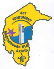 AJ2013 - AUSTRALIA SCOUT JAMBOREE - ACT SCOUTS CONTINGENT BADGE