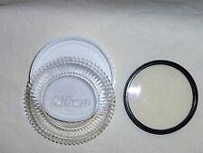 NIKKOR Nikon Thin 52 52mm L39 UltraViolet Filter 52UV Made In Japan Bin#810 used
