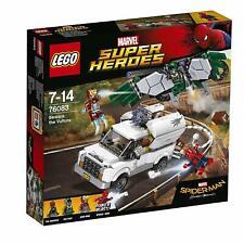 Lego Marvel Super Heroes 76083 BEWARE THE VULTURE Spiderman Iron Man Shocker New