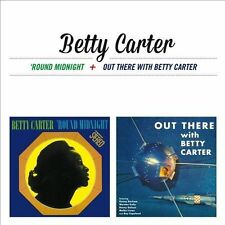 Round Midnight/Out There With Betty Carter by Betty Carter (CD, Sep-2013, Ais)