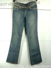 PEOPLE OF THE WORLD Stitch Jeans Denim 25 New With Tag Antique Sein W1700