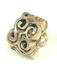 Chamilia Coil Bead Charm Sterling Silver Retired 925