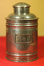 Antique Imperial Russia tin Tea Caddy