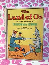 THE LAND OF OZ~THE FURTHER ADVENTURES OF THE SCARECROW & THE TIN WOODMAN 1904 NM