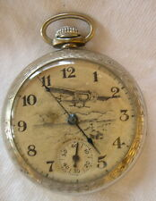 TRAIL BLAZER BYRD 1929 EXPEDITION POCKET WATCH  BY INGRAHAM