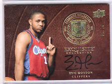 2008-09 Exquisite ERIC GORDON Rookie RC On Card Auto Signature #5/10 SSP