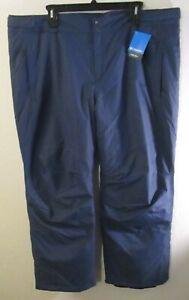 NWT Columbia Mens Bugaboo IV Snowboard Ski Pants 3X Regular Dark Mountain $130