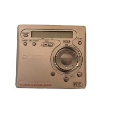 Sony Mz-R700 Pc Md Minidisc Walkman Recorder Vintage