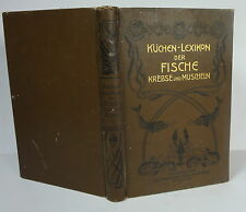 Anker Küchen-Lexikon der Fische Krebse und Muscheln 1903