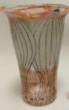 """Florale Vase von """"Vera Walther"""", rares Designobjekt,"""