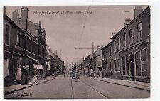 STAMFORD STREET, ASHTON-UNDER-LYNE: Lancashire postcard (C6511).