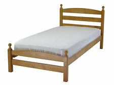 Modella Wooden Bed Frame in Antique Pine  Single 3'0 Kids Children's