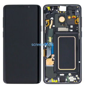 For Samsung Galaxy S9 G960F LCD Display Touch Screen Digitizer+Frame Black+Tool
