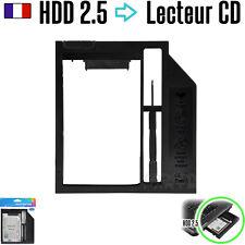 Rack Disque Dur 2.5 SSD dans Baie Lecteur CD Adaptateur PC portable Caddy HDD