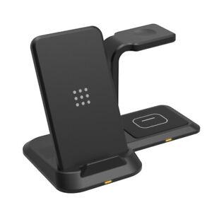 3-in-1 Ladegerät Qi Kabellos Ladestation Für Airpods Pro iPhone 12 Apple Watch 6
