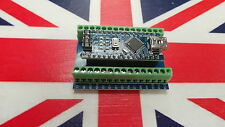 Arduino Nano V3.0 Compatible- Atmega328 Screw Terminal Ch340 Kit DIY UK Stock
