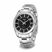 ESQ Men's 'Dress' Quartz Stainless Steel Casual Watch, Color Silver-Toned (Model