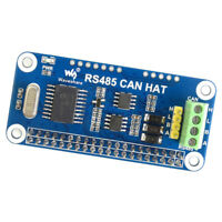 for Raspberry Pi RS485 CAN HAT UART Communication Module Extension Board