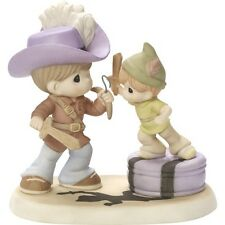 $ New PRECIOUS MOMENTS DISNEY Porcelain Figurine PETER PAN CAPTAIN HOOK Statue