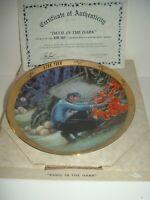 Star Trek Mr Spock Devil In The Dark Plate w Box COA