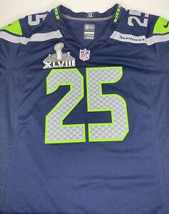 Nike Seattle Seahawks Richard Sherman Jersey Size YOUTH XLARGE On Field NFL