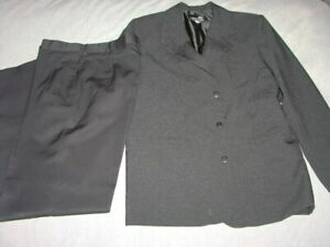 BOYS SIZE 14 X FACTOR DRESS TROUSERS + BAMBOO JACKET