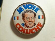 pin's je vote COLUCHE president candidat presidentielle politique humour acteur