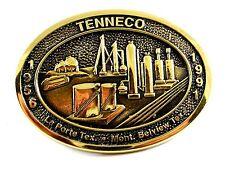 1956 - 1991 Tenneco La Porte Texas Belt Buckle by John Santana 82114