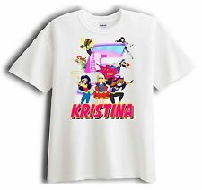 New Personalized DC Super Hero Girls Birthday T-Shirt Party Favor