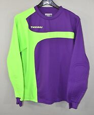 Vizari Soccer Goalie Goalkeeper Jersey SMALL Purple Green Padded