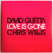 "DAVID GUETTA & CRIS WILLIS - CD SINGLE PROMO ""LOVE IS GONE"""