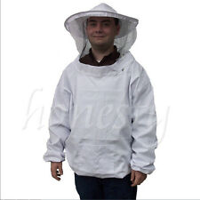 Beekeeping beekeeper Suit Protect Bee Veil Mask Smock Jacket Coat Face Equipment