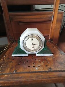 Rare Smith Electric Clock Art Deco 1930s 40s Antique Smiths Mantle Untested