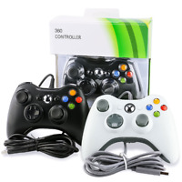 Wired USB Game Controller Joystick for 360 & PC Windows XP 7 8 10