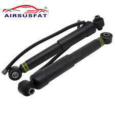 2x Rear Shock Absorbers for Toyota Sequoia w/ Sensor 2008-2019 485303405 new
