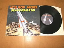 "MINI LP 10"" (Denmark press) - HOT ROD MOSES versus BRACCOBALDOS - punk garage"