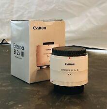 Canon Extender EF Lens