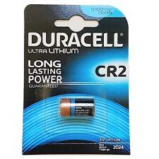 2x Batteries Duracell CR2 3V LITHIUM CAMERA PHOTO CR-2-1BP BATTERY