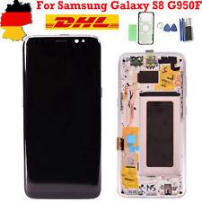 Für Samsung Galaxy S8 SM-G950F LCD Touch Display Bildschirm mit Rahmen - Silber