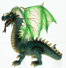 Schleich Animal Figurine Green Horned and  Winged Dragon