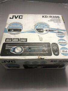 JVC KD-R300 Car Stereo CD MP3 Aux. New (Open Box). Please read description