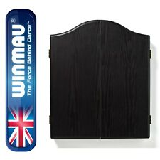 Winmau Dartboard Cabinet Black Ash Effect - Bargain Price for limited Time