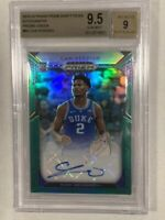 2019 Panini Prizm DP Cam Reddish RC BGS 9.5 Green Prizm Auto - Would Be PSA 10