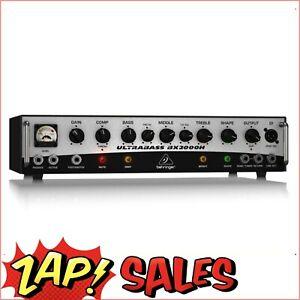 Behringer BX2000H 2000W Class-D Bass Amplifier,MOSFET