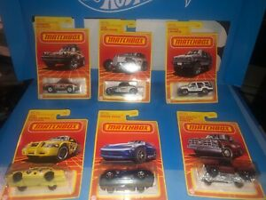 2020 MATCHBOX RETRO SERIES,WAVE 2,COMPLETE SET OF (6),CHEVY,VIPER,TOYOTA & MORE