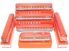"Kleinbahn HO 1:87 ÖBB 4010 ""TRANSALPINE"" MOTORIZED MULTIPLE 6-UNIT Train Set MIB"