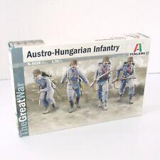 Italeri   Austro-Hungarian Infantry  1:35 Scale Plastic Soldiers Model Kit WWI