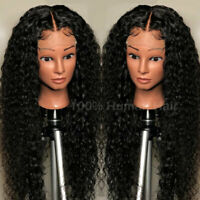 Brazilian Real Full Lace Wig 100% Virgin Human Hair Lace Front Wigs Baby Hair US