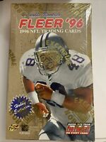 1996 Fleer NFL Football Cards Hobby Exclusive Box - Factory Sealed New