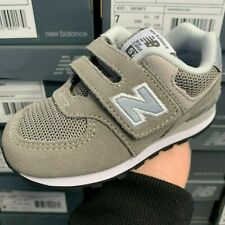 NEW BALANCE 574 SERIES IV574GG GREY SNEAKER KIDS INFANT TODDLERS SHOES SIZE